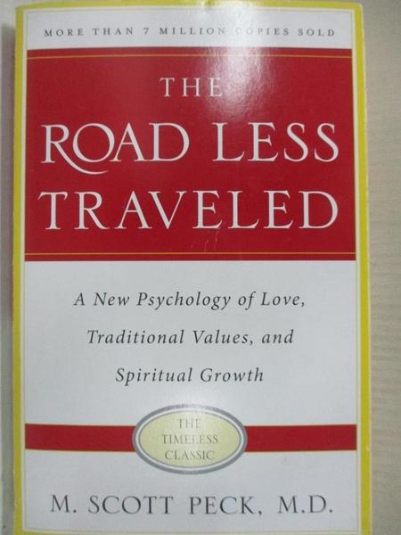 【書寶二手書T1/心理_A44】The Road Less Traveled: A New Psychology of Love…