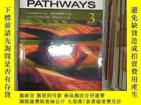 二手書博民逛書店PATHWAYS:罕見Listening, Speaking, and Critical Thinking 3