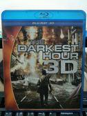 挖寶二手片-Q00-1030-正版BD【黑暗時刻 3D亦可觀賞2D版】-藍光電影
