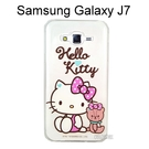 Hello Kitty 透明軟殼 [愛心] Samsung J700F Galaxy J7【三麗鷗正版授權】