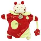 法國娃娃DOUDOU 玩具手偶(紅瓢蟲)(25cm)TC088-6