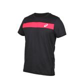 ASICS 男短袖T恤(免運 吸濕排汗 慢跑 路跑 運動上衣 亞瑟士≡體院≡ K12046