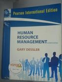 【書寶二手書T5/大學商學_ZBM】Human Resource Management_Dessler