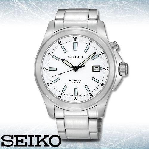 SEIKO 精工手錶專賣店 SKA461P1男錶 人動電能 不鏽鋼錶帶 強化礦物玻璃 防水100米