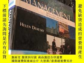 二手書博民逛書店INTERNATIONAL罕見MANAGEMENT MANAGINC ACROSS BORDERS AND CUL