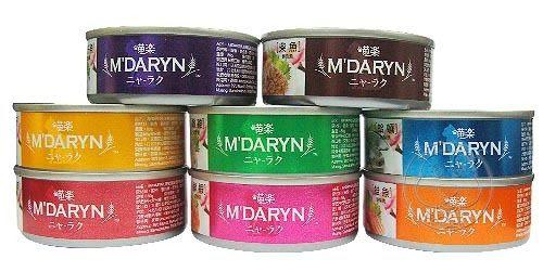 【 培菓平價寵物網 】M DARYN》喵樂美味貓罐系列80g*1罐