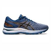 Asics Gel-nimbus 22 [1011A680-023] 男鞋 慢跑 運動 休閒 輕量 支撐 緩衝 灰藍