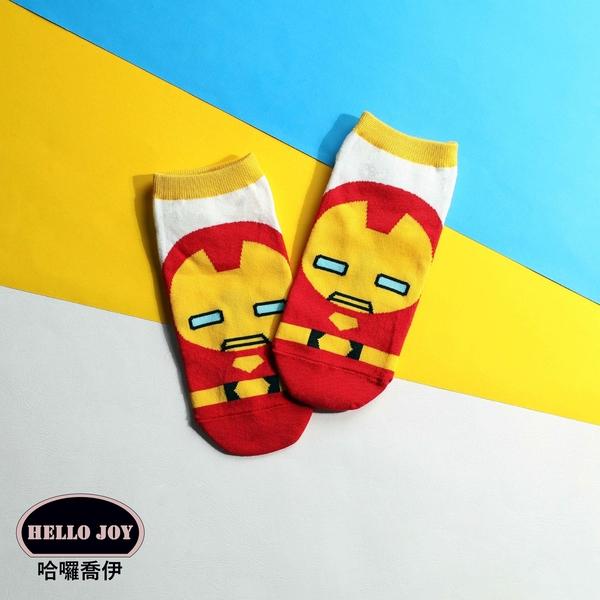 【正韓直送】漫威短襪 韓國襪子 船襪 韓襪 女襪 直板襪 鋼鐵人 美國隊長 韓妞必備 哈囉喬伊 Y4