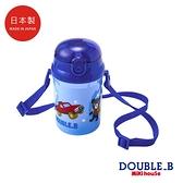 DOUBLE_B 日本製 黑熊吸管水壼 340ml