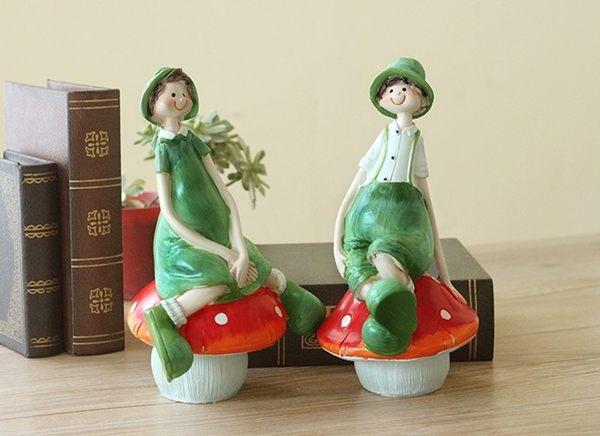[協貿國際]可愛人偶擺飾適合當結婚禮物 (兩個一組)價