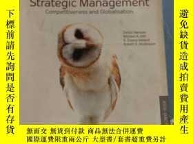 二手書博民逛書店Strategic罕見Management Competitiveness and Globalisation