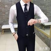 男士西裝馬甲夏新款2018韓版修身坎肩馬夾男背心 JH1943『男人範』