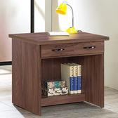 Homelike 愛爾2.7尺二抽書桌-免組裝