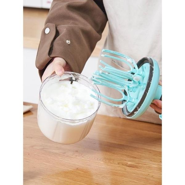 打蛋器 手搖打蛋器奶油打發器手動家用小型半自動蛋清奶泡蛋糕雞蛋攪蛋機 快速出貨