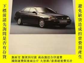 二手書博民逛書店1993年罕見豐田 Carina 汽車樣本Y278823 豐田汽