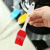 6個裝 硅膠油刷燒烤刷子耐高溫不掉毛廚房烘焙工具蛋糕抹油毛刷   LannaS