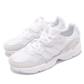 adidas 老爹鞋 Yung-96 白 灰 網布鞋面 復古 老爺鞋 爸爸鞋 運動鞋 男鞋【PUMP306】 EE3682