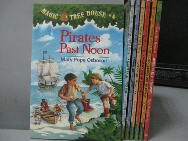 【書寶二手書T6/原文小說_MLR】Pirates Past Noon_Mummies in the Morning等_