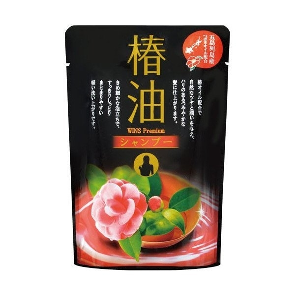 日本製 Kumano熊野油脂(樁油) 洗髮精 補充包 -400ML