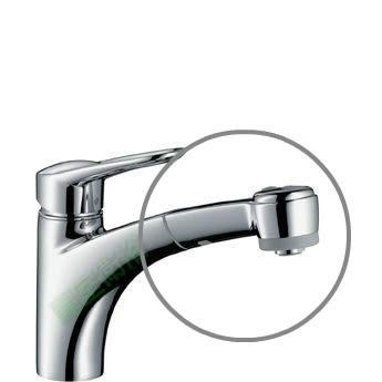 【麗室衛浴】零件 德國 HANSGROHE 伸縮式廚房龍頭噴頭組 14893
