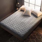 加厚保暖珊瑚絨榻榻米床墊1.8m學生宿舍1.5被單人海綿雙人床褥子
