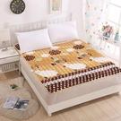 保暖法蘭絨床墊防滑家用床珊瑚絨加厚墊褥榻榻米軟墊【聚可愛】