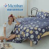 #L-MAB12#國際級美國知名抗菌技術5x6.2尺雙人薄床包舖棉兩用被套四件組[SN]鋪棉/台灣製