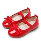 童鞋女童皮鞋兒童單鞋學生演出鞋豆豆鞋小女孩公主鞋【淘嘟嘟】