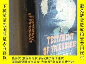 二手書博民逛書店Testament罕見of friendship: The story of Winifred Holtby 英文