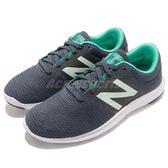 New Balance 慢跑鞋 WKOZECT1 D NB 藍 灰 運動鞋 輕量化 女鞋【PUMP306】 WKOZECT1D