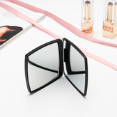 雙面隨身鏡韓國迷你便攜化妝鏡梳妝補妝鏡折疊翻蓋鏡