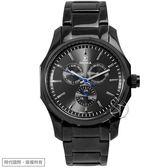 【台南 時代鐘錶 SIGMA】簡約時尚 藍寶石鏡面時尚腕錶 1018M-B01 黑鋼 41mm 平價實惠好選擇
