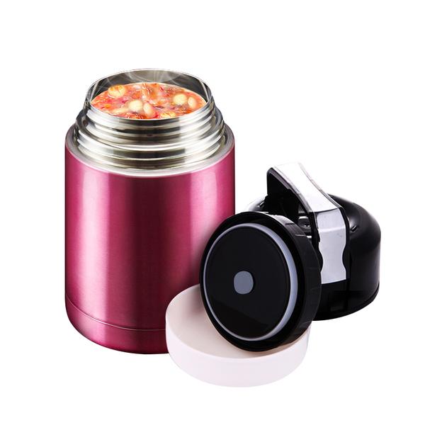 真空雙層手提悶燒鍋 悶燒壺燜燒罐悶燒保溫 304不鏽鋼1000ml 4色可選【AE010】《約翰家庭百貨