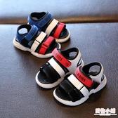 寶寶涼鞋男1-3歲2019夏季防滑軟底男童4-7歲沙灘鞋小男孩夏天鞋子 聖誕節交換禮物