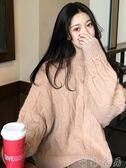 針織上衣女秋冬新品新款正韓針織衫寬鬆套頭慵懶風裝上衣學生【萌森家居】