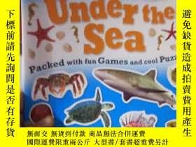 二手書博民逛書店Sticker罕見Activity Book Under the