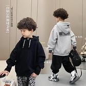 男童衛衣2020冬裝新款自制中大童上衣厚寶寶連帽洋氣兒童外套 快速出貨