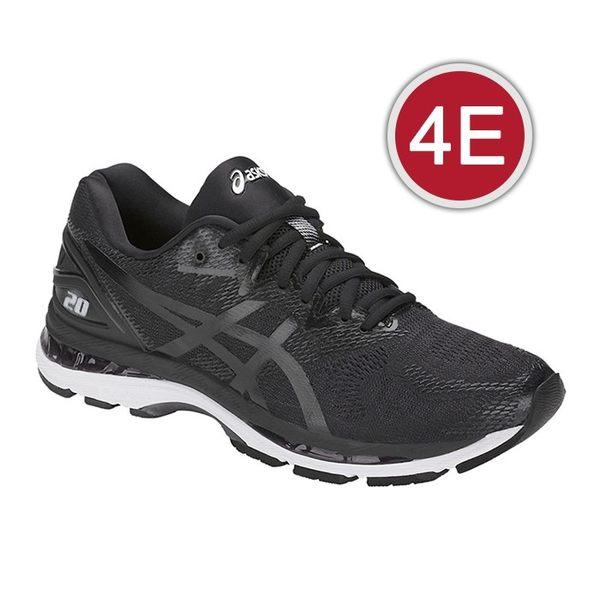 樂買網 ASICS 18SS 高階 緩衝型 慢跑鞋 NIMBUS 20系列 4E超寬楦 T802N-9001 不送贈品