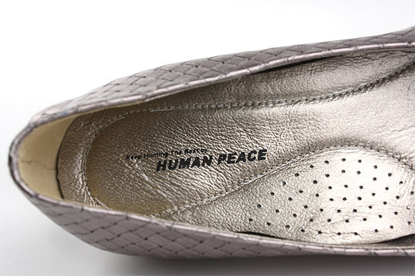 HUMAN PEACE 休閒鞋 女鞋 銀色 no230
