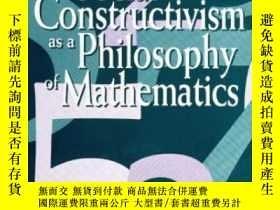 二手書博民逛書店Social罕見Constructivism As A Philosophy Of MathematicsY2