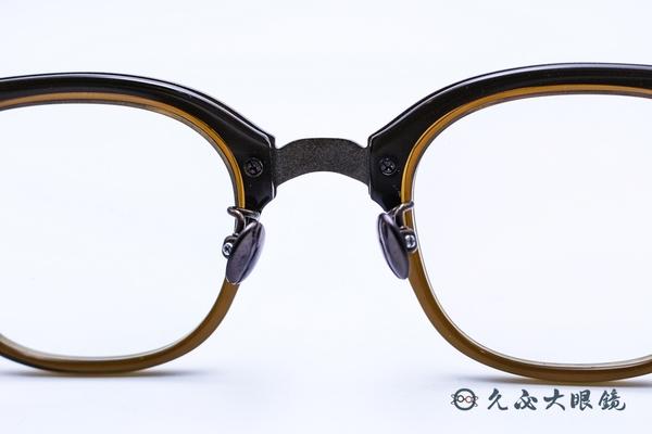Kaffeine 咖啡因 Arabica C2 (咖啡) 韓國設計 經典框型 近視眼鏡
