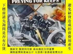 二手書博民逛書店英文原版罕見Preying for Keeps by Mel O