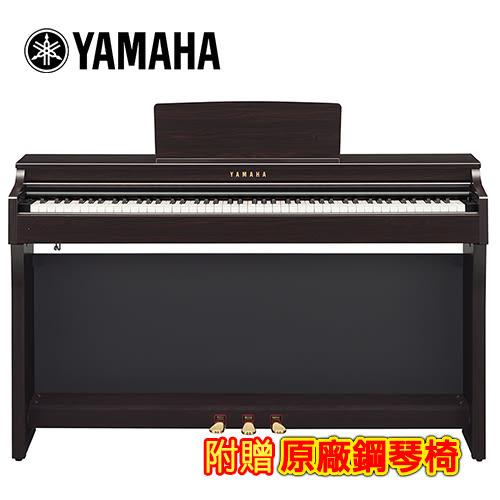 【敦煌樂器】YAMAHA CLP-625 R 88鍵標準數位電鋼琴 深玫瑰木色款