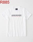 AF A&F Abercrombie & Fitch A & F 男 當季最新現貨 短袖T恤 AF R885