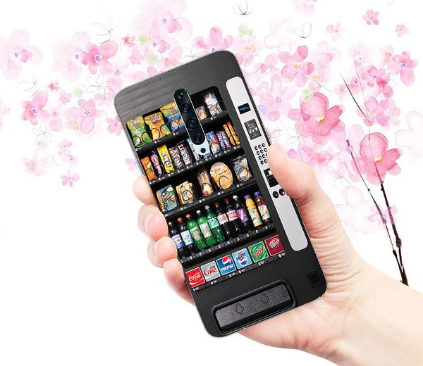 [CPH1907 軟殼] OPPO Reno2 手機殼 自動販賣機