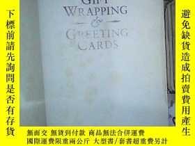 二手書博民逛書店GIFT-WRAPPING罕見GREETING CARDS 禮品包裝賀卡Y180897 不祥 不祥