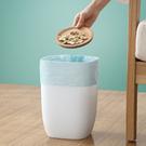 北歐風 垃圾桶 家用 客廳 臥室 廚房 垃圾桶 衛生間無蓋垃圾桶方形紙簍筒  降價兩天
