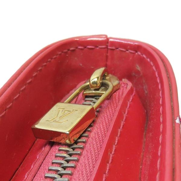 LOUIS VUITTON LV 路易威登 粉紅色漆皮手提包 Huston M91219【BRAND OFF】