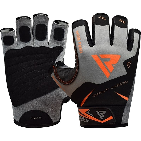 【線上體育】RDX GYM GLOVES SUMBLIMATION F22 ORANGE