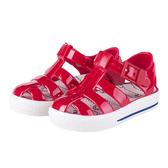 IGOR 西班牙經典果凍鞋-童-紅/白